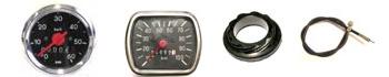 Tachometer, Antriebe, Wellen