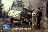Blechschild Puch Haflinger