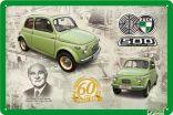 """Blechschild """"Puch 500 Mod. Fiat"""""""