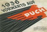 Prospekt - 1936 Vorwärts auf Puch