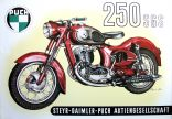 Poster Puch 250 SGS
