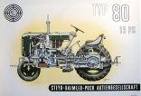 Poster Traktor 15 PS