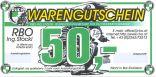 Gutschein RBO - Euro 50,--