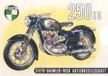 Poster Puch 250 SG Schnittbild