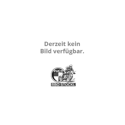 Halbschalenhelm schw./silber Gr. S (55-56)